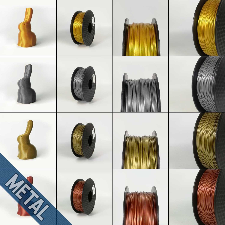 PLA Metal Hello3D Filament
