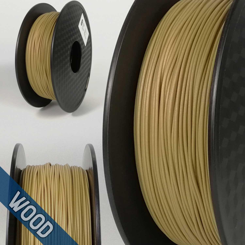 PLA Wood Hello3D Filament