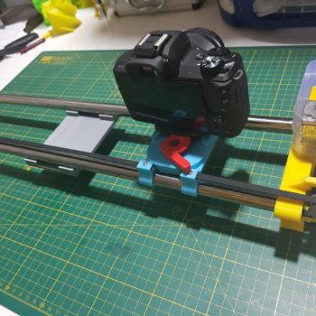 Camera slider, DSLR & Mirthless cameras