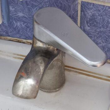 Water mixer handle