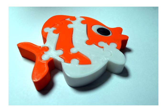 لعبة Fish puzzle