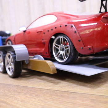 سيارة Rc مقياس1:10   مقطورة