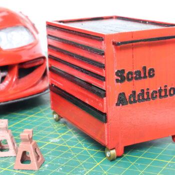 1:10 scale garage tool box